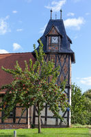 Dorfkirche Wieserode im Harz Fachwerkkirche