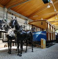 Kostenloses Tramway Museum ,Luxemburg Stadt