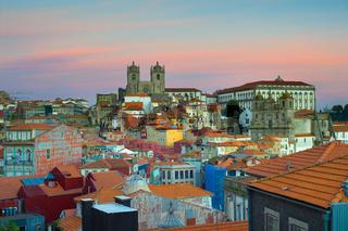 Beautiful Porto at twilight, Portugal
