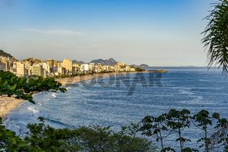 Ipanema, Leblon and Arpoador beaches
