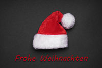 Frohe Weihnachten means merry christmas in German