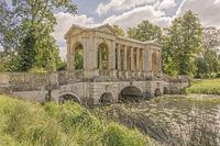 Palladian Bridge Stowe Gardens Buckingham UK