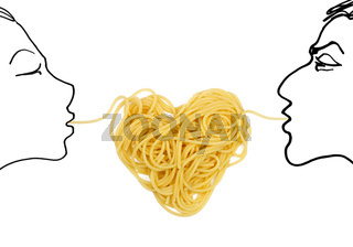 Pasta love (Valentine`s day theme)