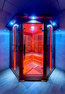 Home electric sauna