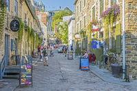 Sous le Fort Street, Quebec City, Canada