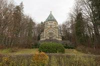 Die Votivkapelle in Berg am Starnberger See, Bayern
