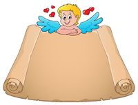 Cupid topic parchment 5