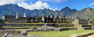 Machu Picchu - is a sacred town of  Inca empire
