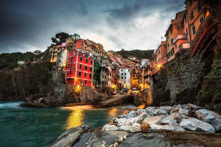 Riomaggiore taken in the morning