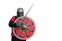 medieval armor swordsman