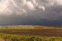 Gewitter über Ostfriesland