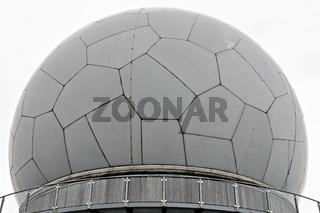 Radarkuppel - Radom Wasserkuppe Rhön