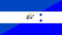 el salvador honduras flag