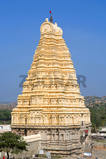 Gopuram of Virupaksha temple, Hampi, Karnataka