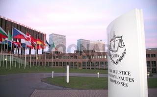 Gebäude der Europäischen Gerichtshofs EuGH