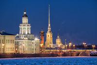 Sights of Saint-Petersburg, Russia