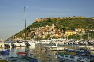 Port'Ercole, Küstenstadt in der Maremma,Toskana, Italien