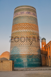Circular architecture in Khiva