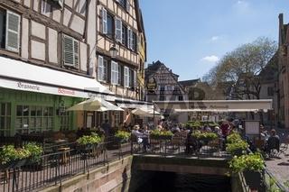 Colmar, Gastronomiebetriebe an der Grand Rue