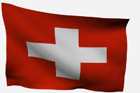 Switzerland 3d flag