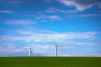 windmills for green electric power