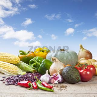 Mexican Food Ingredients