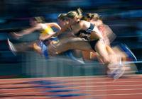 100m-Huerdenlauf weibl. Jugend, Typical