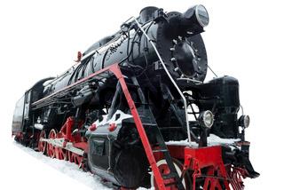 Black old train