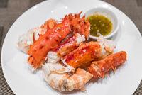 alaskan king crab meat