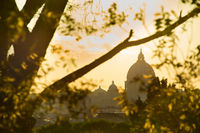 Rome at sunset, Italy