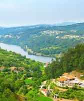 Douro valley overview, Portugal
