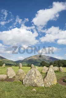 Steinkreis Castlerigg Stone Circle, Lake District