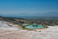 Famous Turkish Pammukale
