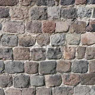 Alte Feldsteinmauer