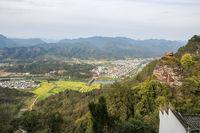 qiyun mountain landscape