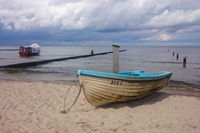 Boot am Strand - Usedom