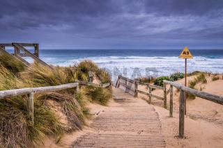Cape Woolamai beach at Phillip Island