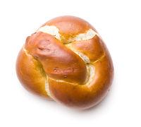 Tasty baked bun.