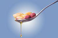Natural peanut oil