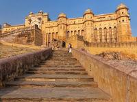 Amber Fort near Jaipur, Rajasthan, India