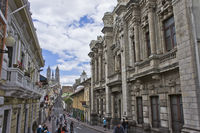 Quito, Ecuador, city center view