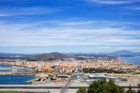 La Linea de la Concepcion Town in Spain