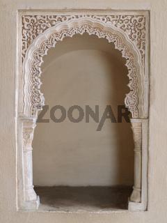 Orientalische Wandnische