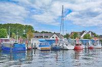 im Hafen von Niendorf(Timmendorfer Strand),Ostsee,Schleswig-Holstein,Deutschland
