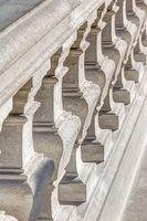 Detailaufnahme Balustrade der Burg Bratislava