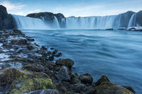 Wasserfall Godafoss Island