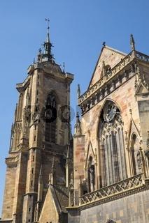 Colmar, Stiftskirche Sankt-Martin, auch Martinsmünster