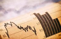 Diagramme mit Aktienkursen