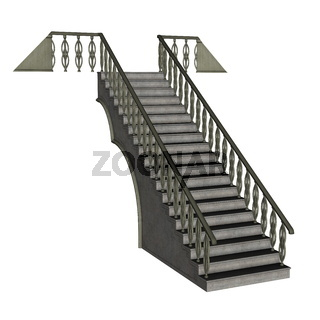 Staircase - 3D render