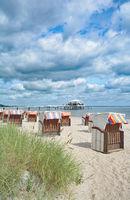 im beliebten Ostseebad Timmendorfer Strand,Schleswig-Holstein,Deutschland